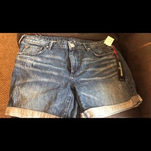 True Religion Emma Bermuda Short Flap